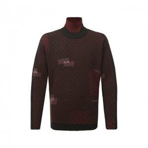 Шерстяной свитер Zegna Couture. Цвет: хаки