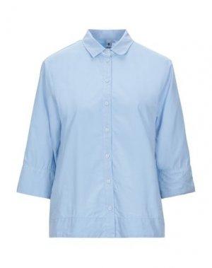 Pубашка EUROPEAN CULTURE. Цвет: небесно-голубой