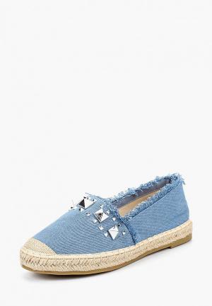 Эспадрильи WS Shoes. Цвет: синий