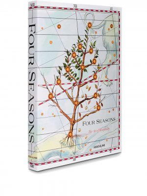 Книга Four Seasons Assouline. Цвет: белый