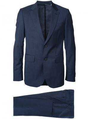 Деловой костюм Cerruti 1881. Цвет: синий