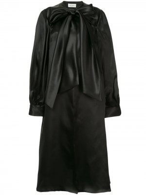 Coatdress with poet sleeves Isabel Sanchis. Цвет: черный