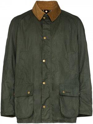 Легкая куртка Ashby Barbour. Цвет: зеленый
