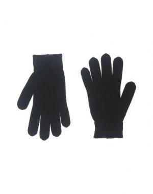 Перчатки BIKKEMBERGS. Цвет: черный