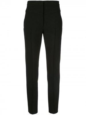 Зауженные брюки с завышенной талией Akris Punto. Цвет: черный