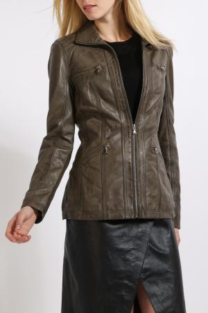 Куртка HElium. Цвет: khaki