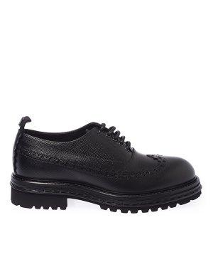 Оксфорды  AA658 42 черный Attimonelli`s. Цвет: черный