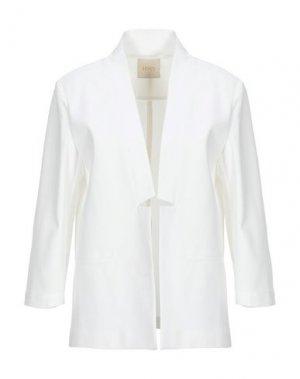 Пиджак H2O ITALIA. Цвет: белый