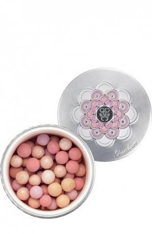 Пудра для лица в шариках Meteorites Perles, оттенок 03 Guerlain. Цвет: бесцветный