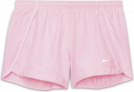 Шорты для девочек Dri-FIT Sprinter, размер 156-166 Nike. Цвет: розовый
