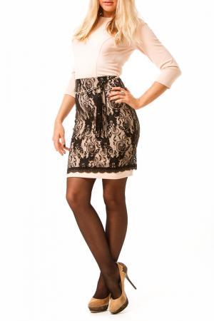 Платье Fervente. Цвет: мультицвет