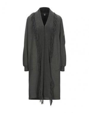 Легкое пальто EUROPEAN CULTURE. Цвет: зеленый-милитари