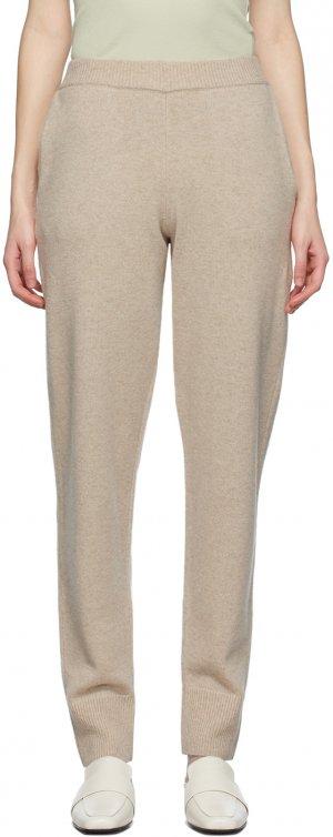 Beige Oversized Knit Lounge Pants Joseph. Цвет: 0295 linen