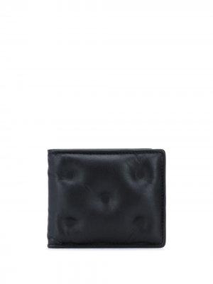Бумажник Glam Slam Maison Margiela. Цвет: черный