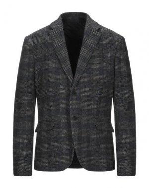 Пиджак GAUDÌ. Цвет: стальной серый