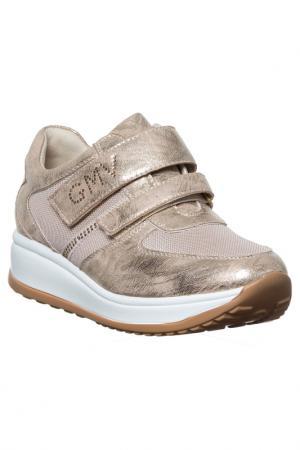 Sneakers GianMarco Venturi. Цвет: gold