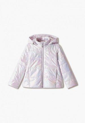 Куртка утепленная Choupette. Цвет: розовый