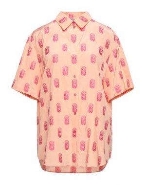 Pубашка KENZO. Цвет: лососево-розовый