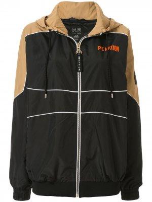 Куртка с капюшоном P.E Nation. Цвет: черный