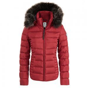 Верхняя одежда Short Parka Goose Down Timberland. Цвет: красный
