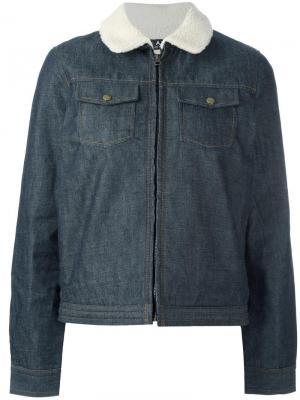 Джинсовая куртка Bonnie A.P.C.. Цвет: синий