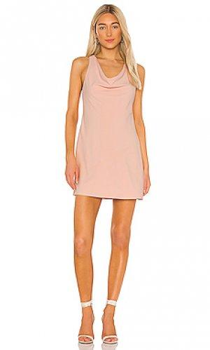 Мини платье harmony Alice + Olivia. Цвет: розовый