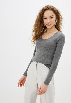 Пуловер Lusio. Цвет: серый