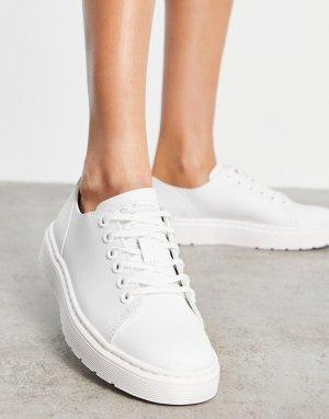 Белые туфли Dante-Белый Dr Martens