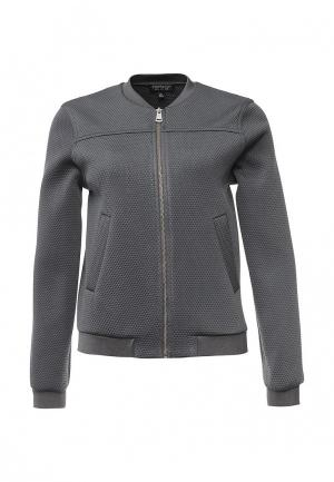 Куртка Topshop. Цвет: серый