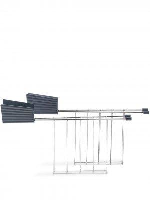 Подставка для тостов Michelle De Lucchi Alessi. Цвет: серый