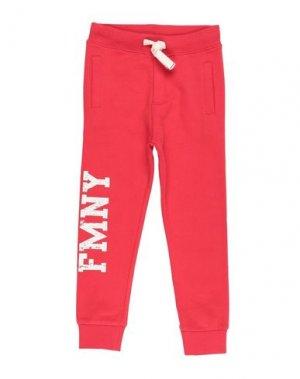 Повседневные брюки FRED MELLO. Цвет: красный