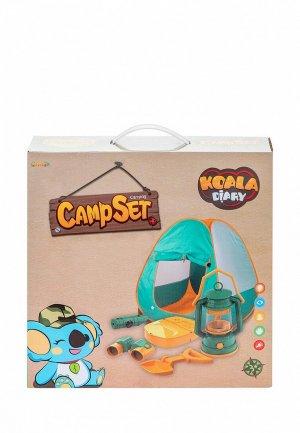 Набор игровой Givito для пикника палатка Туриста 5 предметов. Цвет: разноцветный