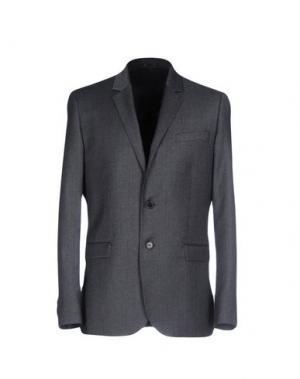 Пиджак BILLTORNADE. Цвет: свинцово-серый