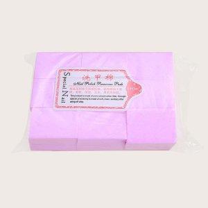 630шт подушка для снятия лака SHEIN. Цвет: ярко-розовый
