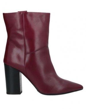 Полусапоги и высокие ботинки CARMENS. Цвет: пурпурный