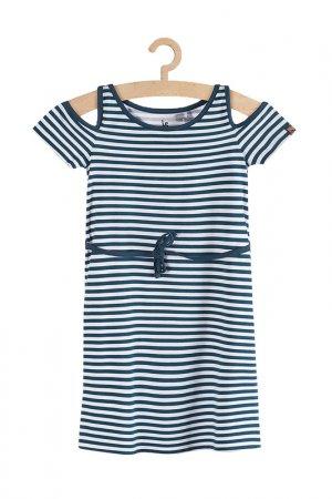 Платье для девочек 5.10.15.. Цвет: синий