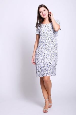 Платье Frank Walder. Цвет: разноцветный