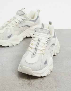 Бежевые кроссовки Korea Iteration-Бежевый Fila