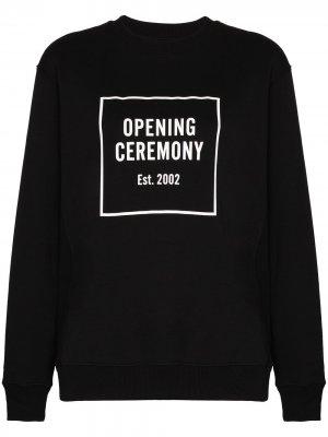 Толстовка с логотипом Opening Ceremony. Цвет: черный