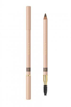 Crayon Définition Sourcils – Пудровый карандаш для бровей 3 Châtain Gucci Beauty. Цвет: коричневый