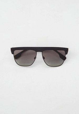 Очки солнцезащитные Burberry BE4325 300111. Цвет: черный