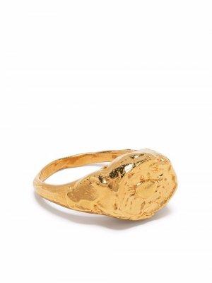 Перстень Cancer Alighieri. Цвет: золотистый