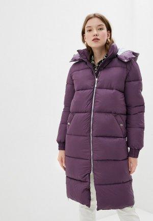 Куртка утепленная Marinari. Цвет: фиолетовый