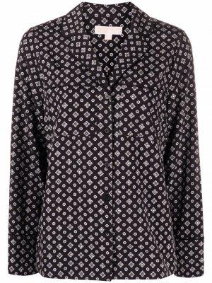 Long-sleeved buttoned-up shirt Michael Kors. Цвет: черный