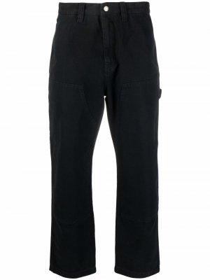 Logo-patch wide-leg jeans Stussy. Цвет: черный