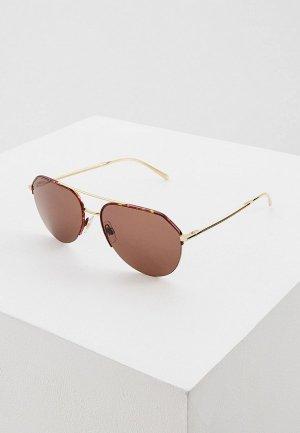 Очки солнцезащитные Dolce&Gabbana DG6133 550/8G. Цвет: бордовый