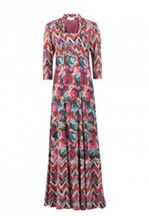 Платье ANNA RACHELE. Цвет: разноцветный