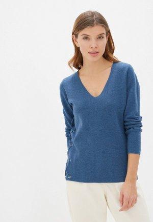 Пуловер Manode. Цвет: синий