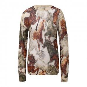 Пуловер Kenzo. Цвет: разноцветный