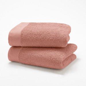 Комплект полотенец для рук 500 La Redoute. Цвет: бежевый